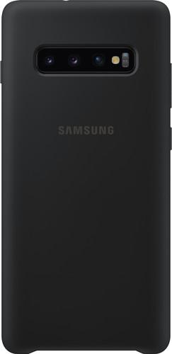 Samsung Galaxy S10 Plus Silicone Back Cover Black Main Image