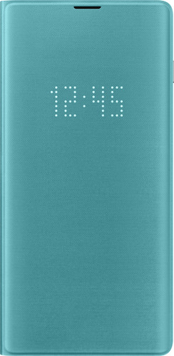 Samsung Galaxy S10 Plus LED View Cover Book Case Groen Main Image