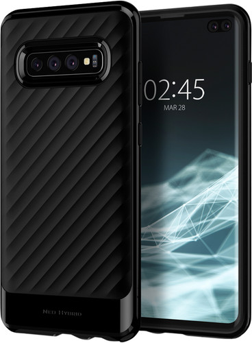 Spigen Neo Hybrid Samsung Galaxy S10 Plus Back Cover Black Main Image