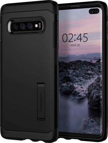 Spigen Tough Armor Samsung Galaxy S10 Plus Back Cover Black Main Image