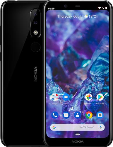 Nokia 5.1 Plus Zwart Main Image