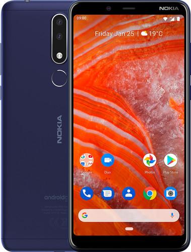 Nokia 3.1 Plus Blauw Main Image