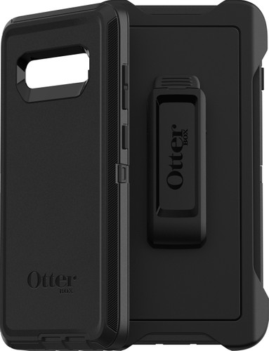 OtterBox Defender Samsung Galaxy S10 Plus Full Body Case Black Main Image