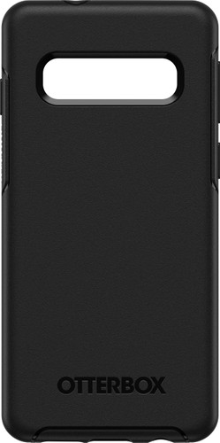OtterBox Symmetry Samsung Galaxy S10 Back Cover Black Main Image