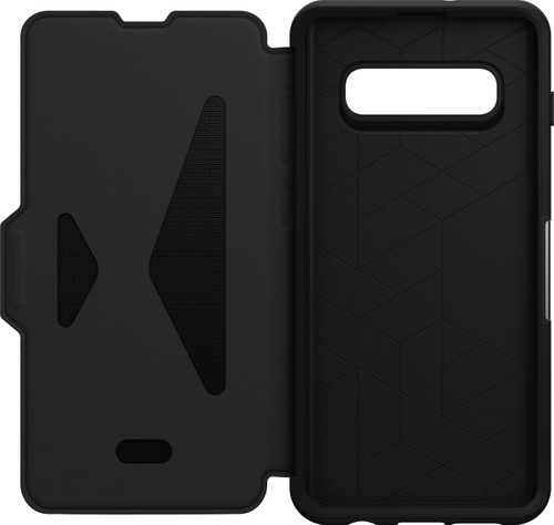 OtterBox Strada Samsung Galaxy S10 Plus Book Case Black Main Image