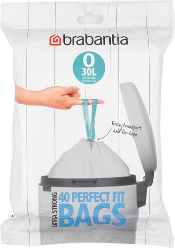 Brabantia Vuilniszakken 45 Liter.Brabantia Vuilniszakken Code O 30 Liter 40 Stuks