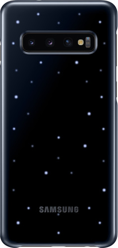 Samsung Galaxy S10 Led Cover Back Cover Black Main Image