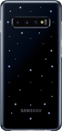 Samsung Galaxy S10 Plus Led Cover Back Cover Black Main Image
