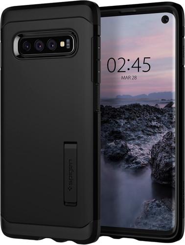 Spigen Tough Armor Samsung Galaxy S10 Back Cover Black Main Image
