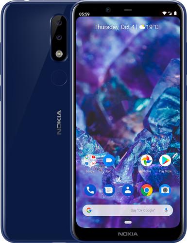 Nokia 5.1 Plus Blauw Main Image