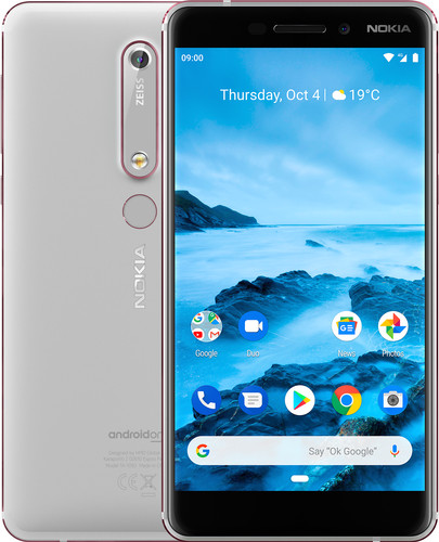 Nokia 6.1 32 GB Wit Main Image