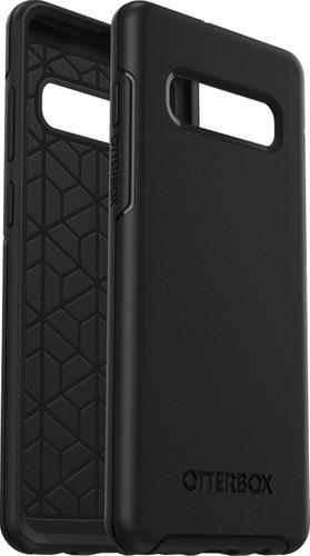 OtterBox Symmetry Samsung Galaxy S10 Plus Back Cover Black Main Image