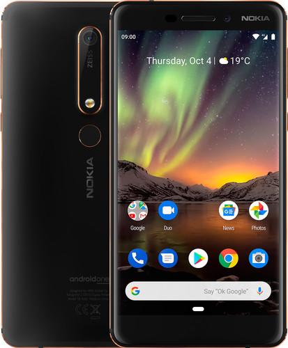 Nokia 6.1 32 GB Zwart Main Image