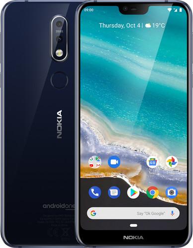 Nokia 7.1 Blauw Main Image