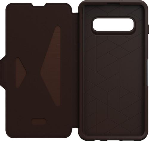 OtterBox Strada Samsung Galaxy S10 Plus Book Case Brown Main Image