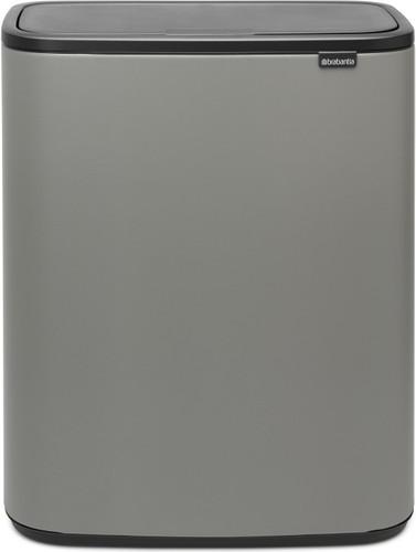 Brabantia Bo Touch Bin 2 x 30 Liter Mineral Concrete Grey Main Image