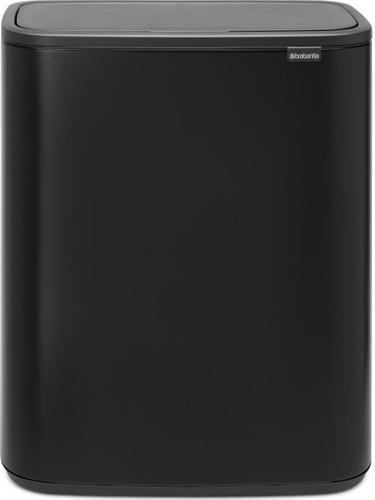 Brabantia Touch Bin 50 Liter Wit.Brabantia Bo Touch Bin 60 Liter Matt Black