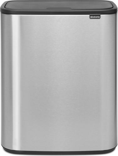 Brabantia Bo Touch Bin 60 Liter Staal Vingerafdruk Proof Main Image
