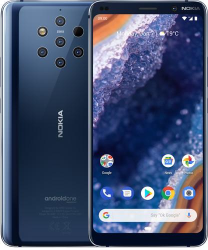 Nokia 9 PureView Blauw Main Image