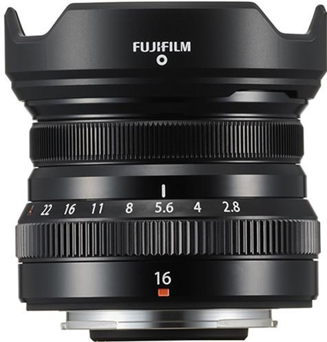 Fujifilm XF16mm f/2.8 R WR Zwart Main Image