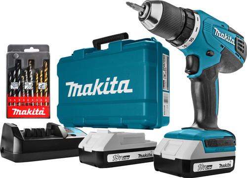 Makita DF457DWE + 9-delige Makita borenset Main Image