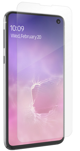 InvisibleShield Ultra Clear Samsung Galaxy S10 Screenprotector Plastic Main Image