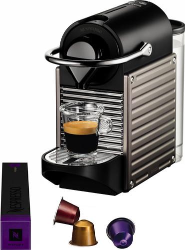 Krups Nespresso Pixie XN304T Titanium Main Image