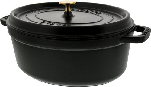 Staub Oval Dutch Oven 31cm Black Main Image