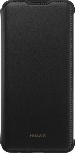 Huawei P Smart (2019) Flip Cover Book Case Black Main Image