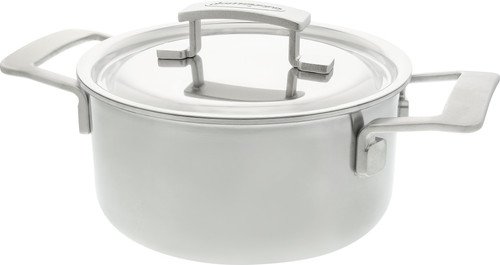 Demeyere Industry Pot with Lid 18cm Main Image