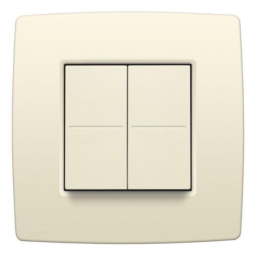 Niko Hue Original Cream dimmer switch Main Image