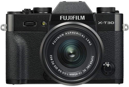 FujiFilm X-T30 Zwart + XC 15-45mm f/3.5-5.6 OIS PZ Main Image