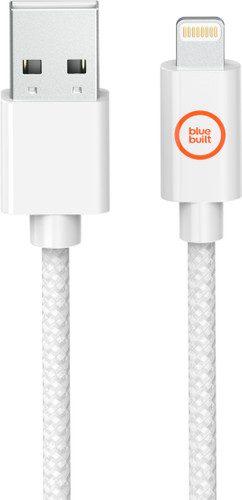 BlueBuilt Lightning to USB-A Cable White 2.5m Main Image