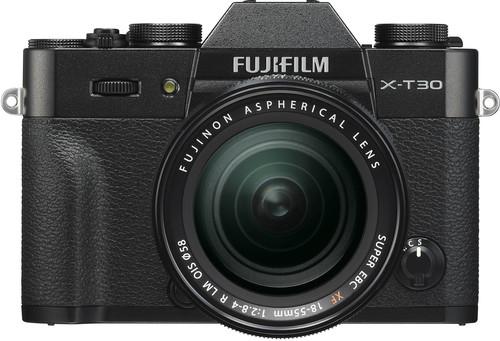 FujiFilm X-T30 Black + XF18-55mm f/2.8-4.0 R LM OIS Main Image