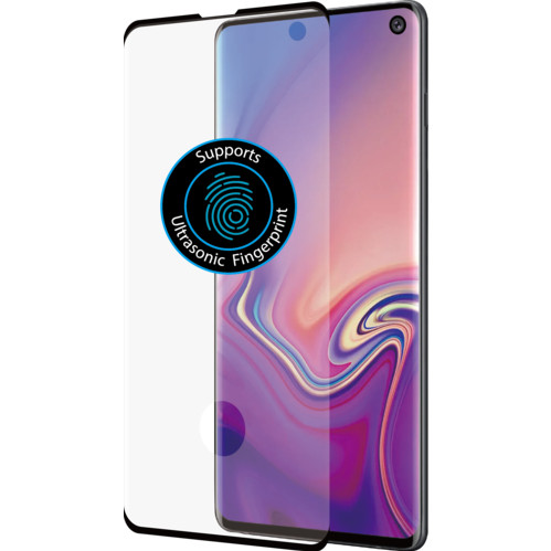 Azuri Curved Tempered Glass Samsung Galaxy S10 Screen Protector Main Image