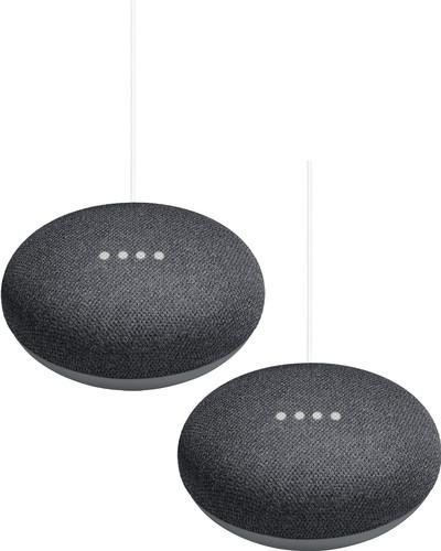 Google Home Mini Duo Pack Gray Main Image