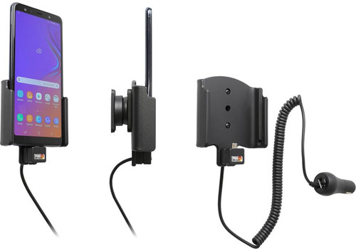Brodit phone holder Samsung Galaxy A7 (2018) with charger Main Image