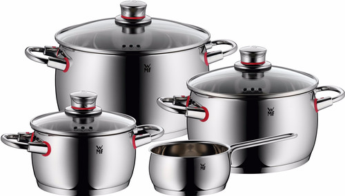 WMF Quality One 4-piece Cookware set with saucepan Main Image