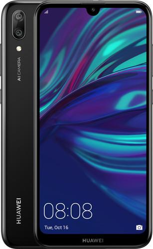 Huawei Y7 (2019) Dual Sim Zwart Main Image