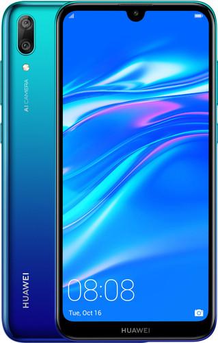 Huawei Y7 (2019) Dual SIM Blue Main Image