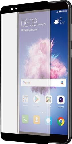Azuri Curved Gehard Glas Huawei P Smart Screenprotector Glas Zwart Main Image