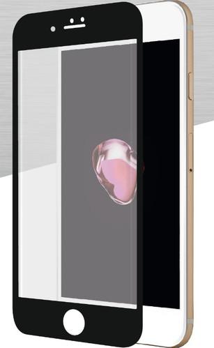 Azuri Apple iPhone 7 Plus Screenprotector Curved Gehard Glas Duo Pack Zwart Main Image