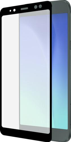 Azuri Tempered Glass Galaxy A8 (2018) Screen Protector Glass Black Main Image