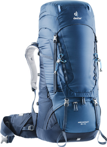 Deuter Aircontact 55 + 10L Midnight/Navy Main Image