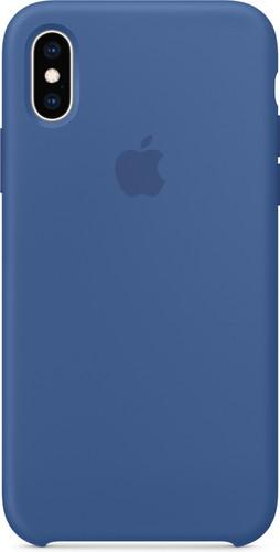 Apple iPhone Xs Silicone Case Delft Blue Main Image