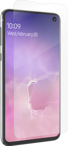 InvisibleShield Ultra Clear Samsung Galaxy S10e Screenprotector Plastic Main Image