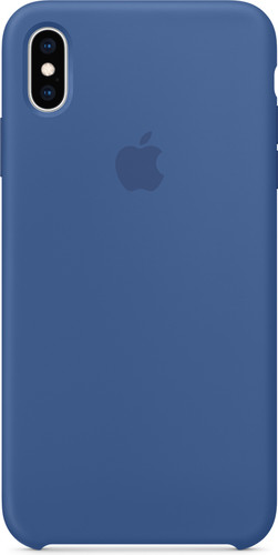 Apple iPhone Xs Max Silicone Case Delft Blue Main Image