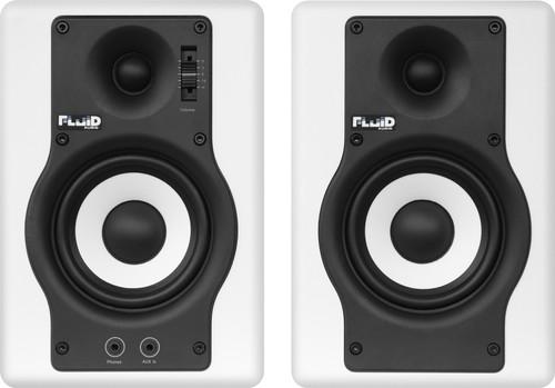 Fluid Audio F4 Wit (per paar) Main Image