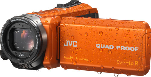 JVC GZ-R445DEU Orange Main Image