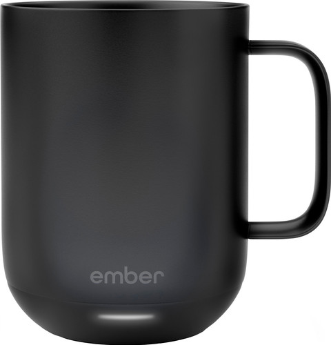 Ember Ceramic Smart Mug Black Main Image